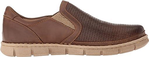 Brown (Sunset) Embossed/Full Grain Leather