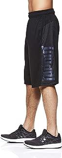 Men's Performance Heather Workout Gym & Running Shorts w Pockets - 12 Inch Inseam