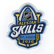 2020 Official NHL All Star Skills St Louis Blues Embroidered Jersey Patch