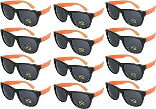 Edge I-Wear 12 Bulk 80s Neon Party Sunglasses for Adult...