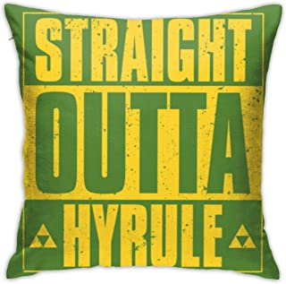 HSDLAHDKJZ Straight Outta Hyrule Bedroom/Living Room/Room/Sofa Soft Pillowcases 18inch18inch