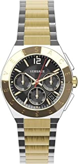 Versace Mens Landmark Round Watch