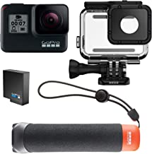 GoPro HERO7 Black - Bundle + The Handler (Empuñadura Flotante) + Batería Recargable + Carcasa para buceo
