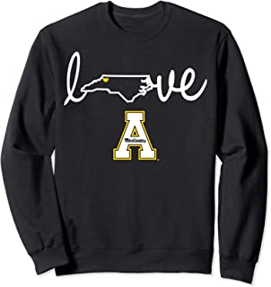 Appalachian State Mountaineers State Love Sweatshirt Apparel