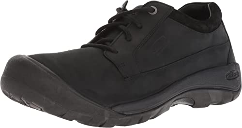 KEEN Men's Austin Casual Waterproof Clog, schwarz Raven, 13 M US