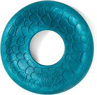 West Paw Zogoflex Air Dash Durable Dog Frisbee Nearly Indestructible Flying Disc Dog Toy, 100% Guaranteed Tough, It Floats!, Made in USA, Large, for Medium Chewers