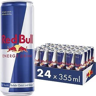 Red Bull Energy Drink Dosen Getränke 24er Palette, EINWEG 24 x 355 ml
