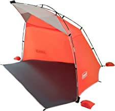 Coleman Skyshade Large Compact Beach Shade   Portable Sun Shelter, Tiger Lily