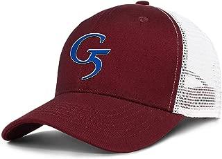zjjipffittcn Mens G5-Outdoors- Baseball Hat Mesh Trucker Cap FitFlat Hats