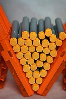 Blasters & Beyond 36 pk Refill Elite Genuine Velcro Hook and Fastener TIP Darts Compatible with Nerf Dart Tag, N-Strike Elite and AccuStrike