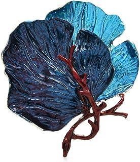 Spille con foglie grandi per le donne Spille per spille da ufficio smaltate