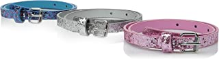 On the Verge Girls' Glitter Belts (3 Pieces)