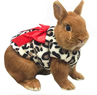 Alfie Pet - Giselle Leopard Clothes for Small Animals Like Guinea Pigs and Rabbits, Size: Small