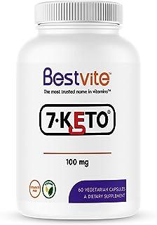 7-Keto 100mg DHEA (60 Vegetarian Capsules) - No Stearates