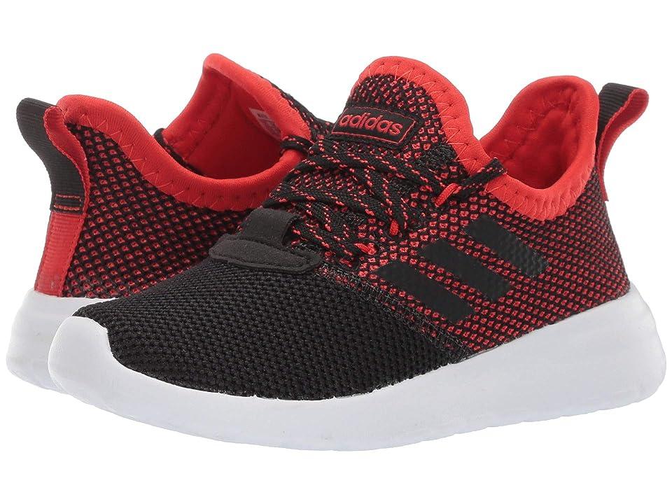 adidas Kids Lite Racer Reborn (Little Kid/Big Kid) (Core Black/Core Black/Active Red) Kid