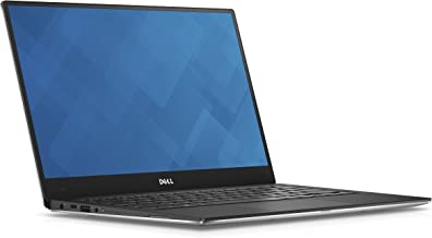 Dell XPS 13 9360 13.3 inches Laptop 7th Gen Intel Core i5-7200U, 8GB RAM, 256GB NVME SSD Machined Aluminum Display Silver Win 10 (Renewed)
