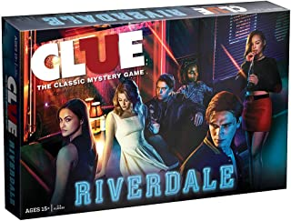 CLUE: Riverdale Board Game | Features Popular Characters and Locations from The CW TV Show Riverdale | Official Riverdale Merchandise | Artwork from Riverdale Seasons | Themed Clue Game