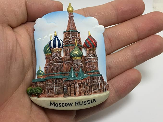 9 Souvenir fridge magnets Sochi Russia