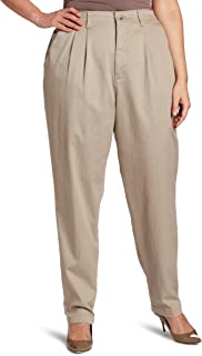 LEE Women's Plus Size Relaxed-fit Side-Elastic Pant