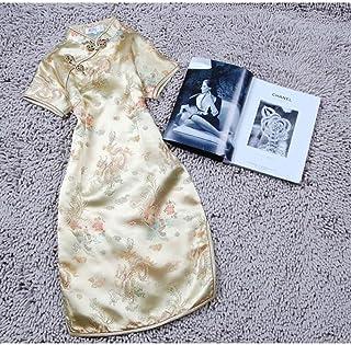 Short Cheongsam Plus Size 3Xl Classic Cheongsam Women Stand-Up Collar Slim Chinese Dress