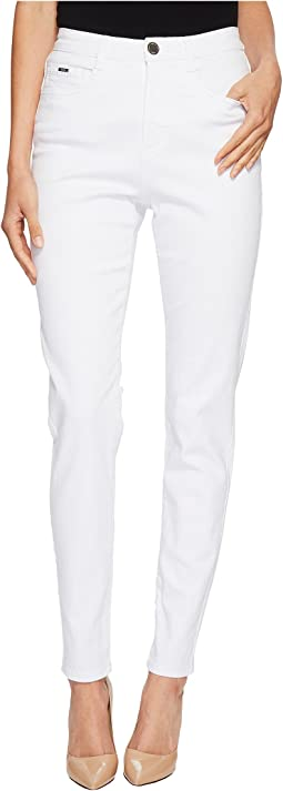 Sunset Hues Suzanne Slim Leg in White