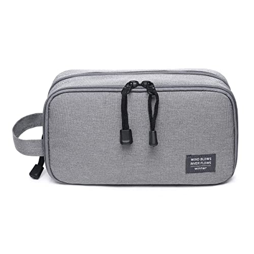 JORYEE Men s Waterproof Travel Toiletry Bag Small Dopp Kit Organizer 5bb6f8d6b1715