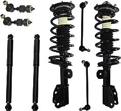 Complete Front Strut Coil Spring & Mount Assembly & Rear Shocks w/All (4) Sway Bar End Links for 2005-2006 Chevy Equinox - [2006 Pontiac Torrent] - 2002-2007 Saturn Vue (Excluding Redline))