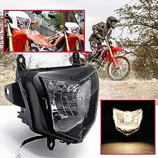 Head lamp - Motorcycle Headlight Fairing Headlamp For HONDA CRF250L 2013 2014 2015 2016 2017 Motorbike Head Light Lamp