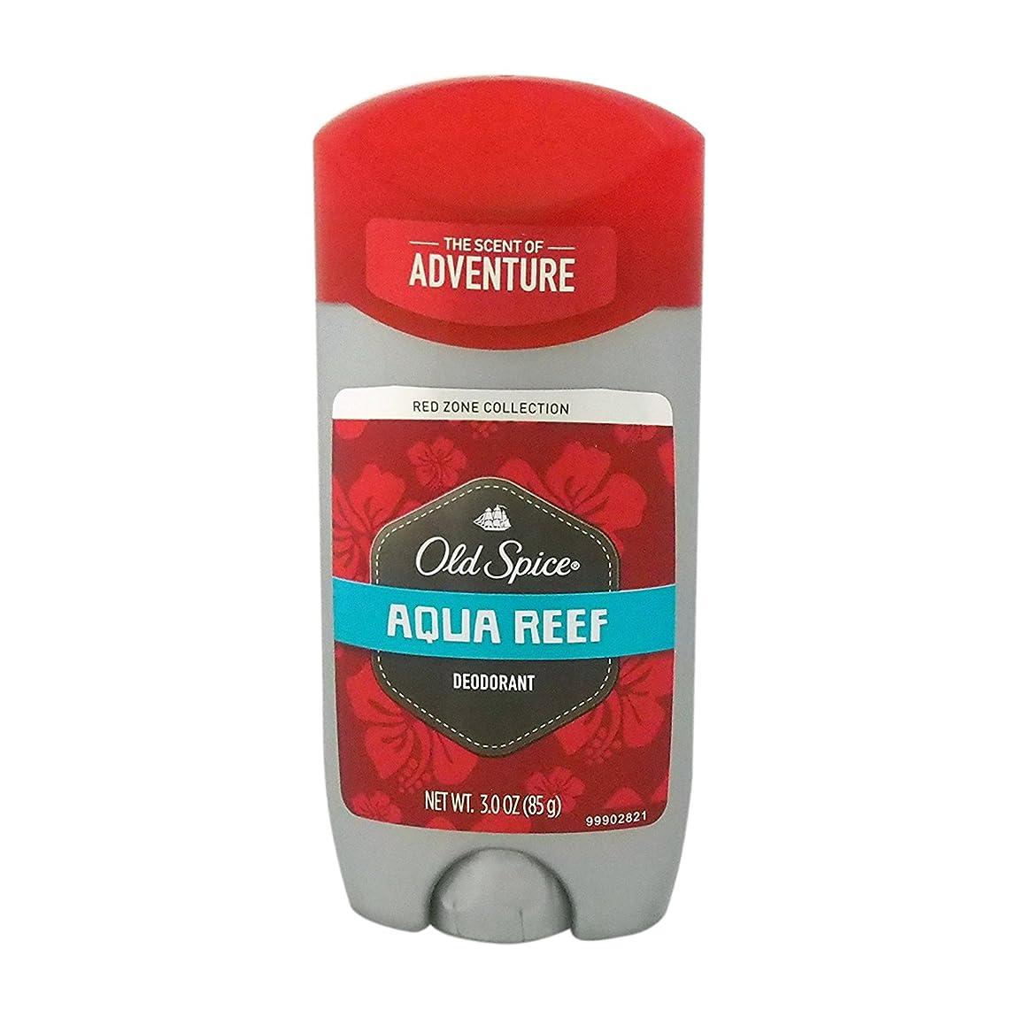 常習者生産性宿るオールドスパイス(Old Spice) RED ZONE COLLECTION アクアリーフ デオドラント 85g[並行輸入品]