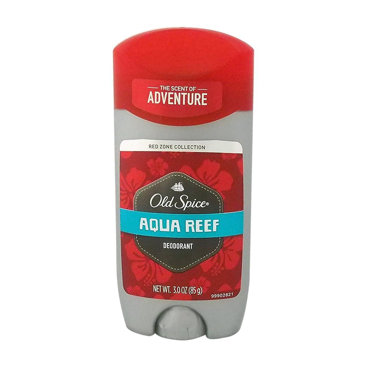 空港こっそりご近所オールドスパイス(Old Spice) RED ZONE COLLECTION アクアリーフ デオドラント 85g[並行輸入品]