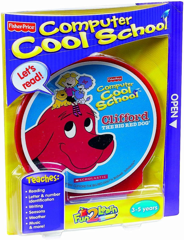 FisherPrice Fun2Learn Computer Cool School Clifford Software