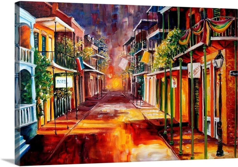 Phoenix Mall Twilight in New Orleans Canvas Wall Very popular 48