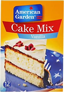 American Garden Vanilla Cake Mix, 500 gm