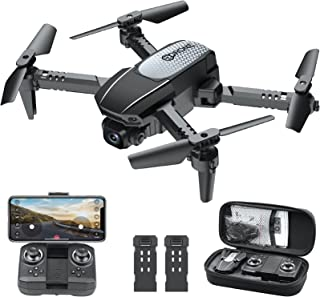 WiFi FPV Drone with 1080P HD Camera, Melusen 120° Wide-Angle Live Video RC Quadcopter with...