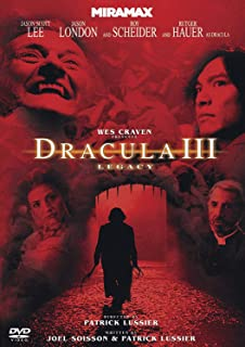 Wes Craven: Dracula III: Legacy [DVD] by Jason Scott Lee