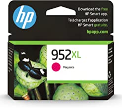 Original HP 952XL Magenta High-yield Ink Cartridge | Works with HP OfficeJet 8702, HP OfficeJet Pro 7720, 7740, 8210, 871...