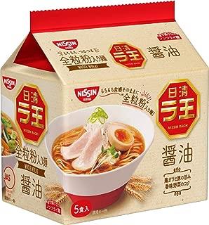 日清 ラ王 醤油 5食パック 510g×6袋