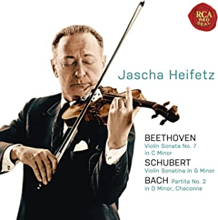 Beethoven: Violin Sonata No. 7 in C Minor; Schubert: Violin Sonatina in G Minor; Bach: Partita No. 2 in D Minor, Chaconne