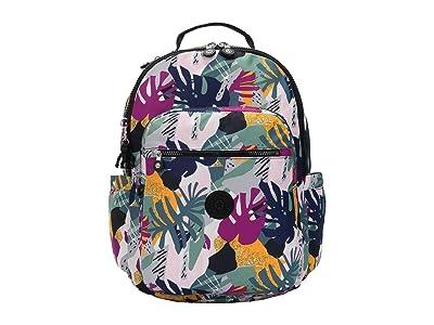 Kipling Seoul Laptop Backpack (Active Jungle) Backpack Bags