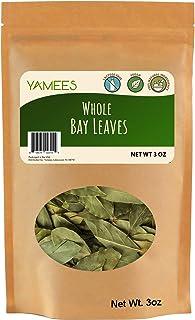Yamees Bay Leaves – Bay Leaves Bulk – Bay Leaves Whole – Laurel Leaves - Bulk Spices - 3 Ounce Bag