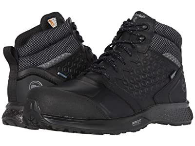 Timberland PRO Reaxion Mid Composite Safety Toe Waterproof (Black/Black) Men