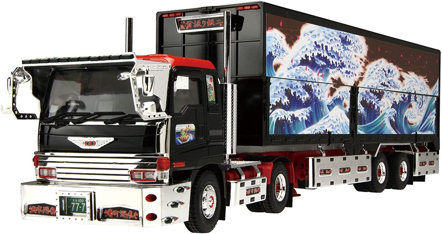 1 32 Value Decoration Truck Series No.18 swing silver two (wing trailer) (japan import)