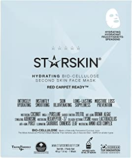 Starskin Red Carpet Ready Coconut Bio-Cellulose Second Skin Hydrating Face Mask