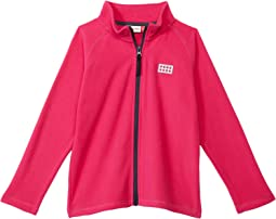 Full Zip Recycled Polyester Fleece Cardigan (Infant/Toddler/Little Kids/Big Kids)