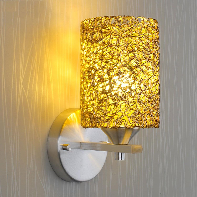 YYF Wandlampe Kreativ Led Lampe Wandleuchte Wohnzimmer Schlafzimmer Bedside Lampe Restaurant Aisle Treppenhaus Aluminium ist nicht Rust Energieeinsparung Low-Carbon Umweltschutz