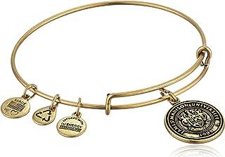 Alex and Ani James Madison University Logo Expandable Bangle Bracelet