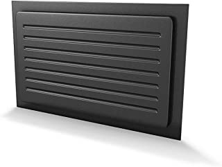 Crawl Space Vent Cover Outward Mounted - Black (10