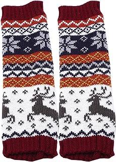 LALANG Women Fingerless Knitted Gloves Arm Winter Warmer Mitten