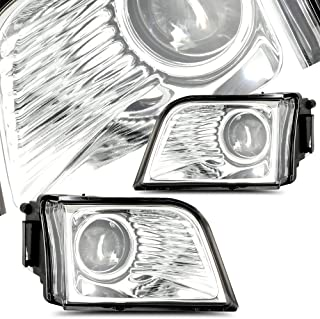 SCITOO For 2003 2004 2005 Toyota 4Runner Clear Replacement Fog Light Assembly Left Right Side