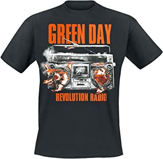 Green Day Revolution Radio Camiseta Negro M